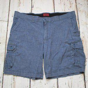 The Foundry Flex Cargo Jean Shorts